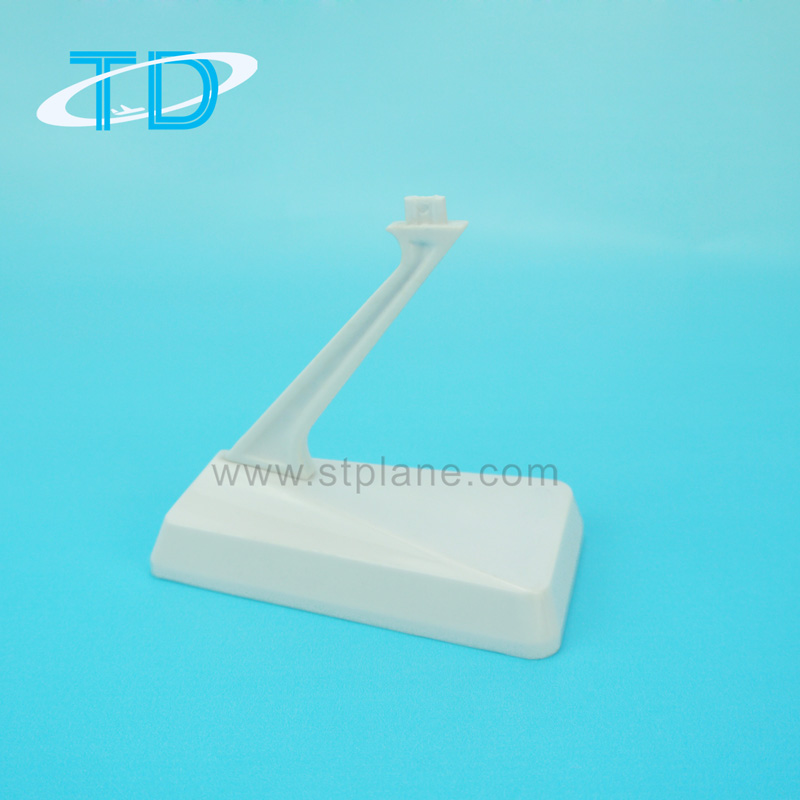 Heightened rapezium plastic stand