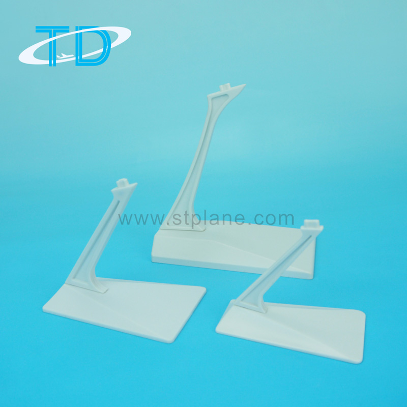Different Size of Trapezium Plastic Stand